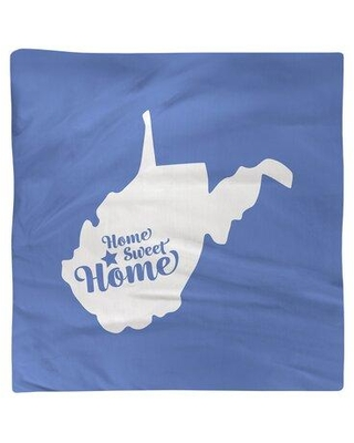 """East Urban Home Home Sweet Charleston WW Napkin FCKL0113 Color: Blue Size: 10"""" W x 10"""" D Material: Cotton"""