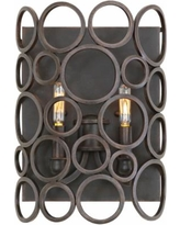 "Ashbourne 14"" High Heirloom Bronze Wall Sconce"