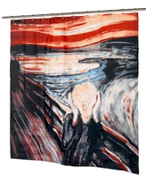 Ben and Jonah The Scream Shower Curtain FSC13-SM