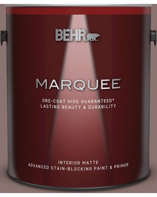 BEHR MARQUEE 1 gal. #720B-5 Bitter Briar Matte Interior Paint and Primer in One