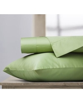 Ardor Home 400 Thread Count 100% Cotton Sheet Set S400 Size: Full, Color: Sage