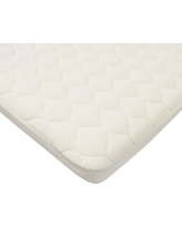 TL Care Organic Cotton Waterproof Quilted Pack n' Play Playard Mattress Cover - Natural