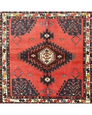 Bloomsbury Market Marcello Traditional Red/Black/Light Yellow Area Rug X112787204 Rug Size: Rectangle 4' x 6'