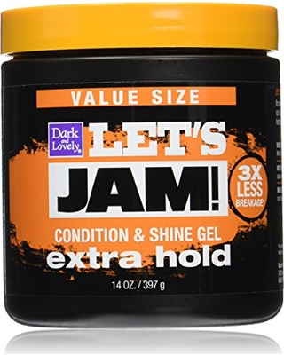 SoftSheen-Carson Let's Jam! Shining and Conditioning Gel - Extra Hold, 14 oz