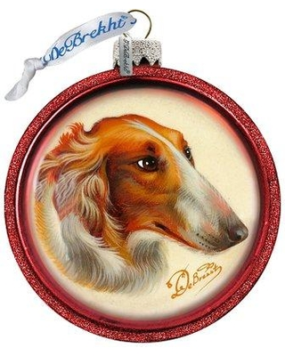 The Holiday Aisle Dog Ball Ornament Holiday Splendor Collection CJ182354