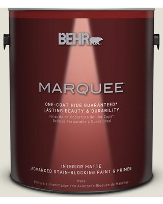 BEHR MARQUEE 1 gal. #T18-09 Soft Focus Matte Interior Paint and Primer in One
