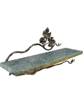 "Quiescence Vineyard 20"" W Wall Shelf AC-SHF-VY Finish: Silver Shimmer"
