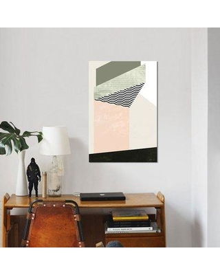 "East Urban Home 'Edge of Town II' Graphic Art Print on Canvas UBHM8774 Size: 12"" H x 8"" W x 0.75"" D"