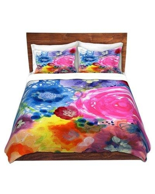 East Urban Home Julia Duvet Cover Set W001303983 Size: 1 Queen Duvet Cover + 2 Standard Shams