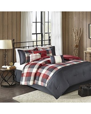 Amazing Winter Deal Madison Park Ridge King Size Bed Comforter Set