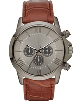 Men's Roman StrapWatch - Goodfellow & Co Gunmetal