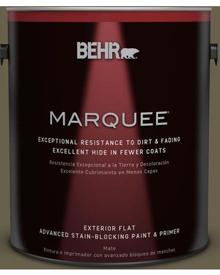 Here S A Great Deal On Behr Marquee 1 Gal N340 7 Kilimanjaro Flat Exterior Paint And Primer In One