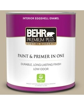 Can T Miss Deals On Behr Premium Plus 5 Gal Home Decorators Collection Hdc Nt 09 Basic Khaki Eggshell Enamel Low Odor Interior Paint Primer