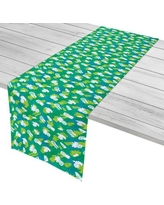 "Island Girl Home Garden Pineapple Parade Table Runner IGH-TR64 Size: 16"" W x 90"" L"