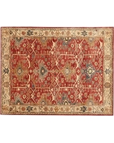 Channing Persian Rug, 9 x 12', Red
