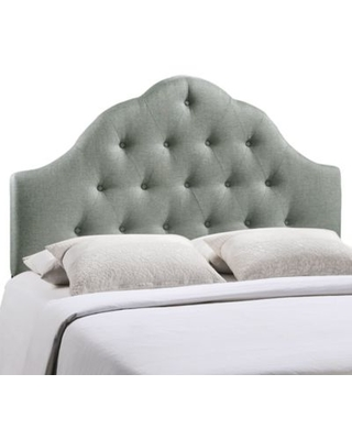 Modway Sovereign King Fabric Headboard in Grey