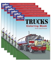 Boost Trucks Coloring Book Grades 1-2, Pack of 6