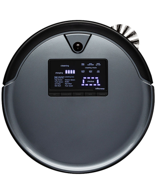 Bobsweep PetHair Plus Robotic Vacuum Cleaner and Mop, One Size , Black