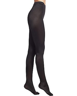 bcaf4574190 New Savings on Wolford Women s Satin De Luxe Tights - Black - Size Large