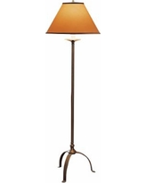 Hubbardton Forge Natural Iron Simple Lines Floor Lamp