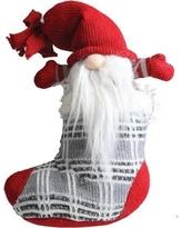 "Northlight ""Tristan"" Gnome in Christmas Stocking Tabletop Decoration 32259538"