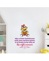 Spectacular Sales For Flintstones Be Silly Vinyl Wall Decal Design With Vinyl Size 30 H X 15 W