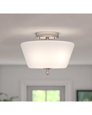 Charlton Home Reynal 2-Light Semi-Flush Mount CHLH3200