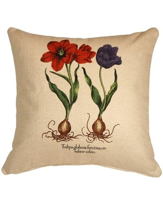 Crestwood Tulips Throw Pillow August Grove