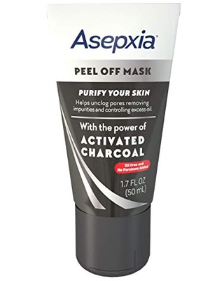 Asepxia Activated Charcoal Peel Off Mask, 1.7 Ounce