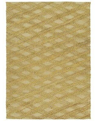 Remarkable Deals On Dakota Fields Geometric Handmade Tufted Jute Brass Area Rug Jute Sisal In Brown Tan Size Rectangle 2 X 3 Wayfair