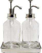 Double Soap Pump Oil Can Clear - Threshold