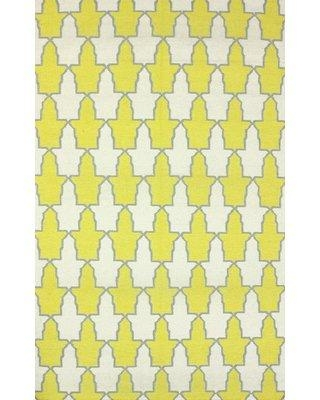 Ebern Designs Dure Yellow Rug SPRE32C-508 / SPRE32C-76096 Rug Size: Rectangle 5' x 8'