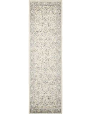 """Alcott Hill Lamarche Woven Ivory Area Rug ACOT8008 Rug Size: Runner 2'2"""" x 7'6"""""""