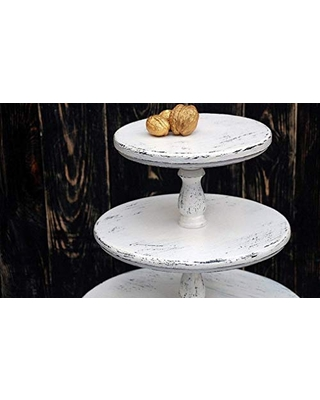 Discover Deals On All Sizes White Wedding Cupcake Stand Wooden Cake Stand Wood Cake Stand Bridal Showers Rustic Cake Stand Wedding Decor Cake Holder Wedding