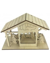 The Holiday Aisle Plywood Laser Cut Hanging Ornament THDA6167
