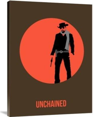 """Naxart 'Unchained Poster 1' Graphic Art Print on Canvas GCS-454375 Size: 40"""" H x 30"""" W x 1.5"""" D"""