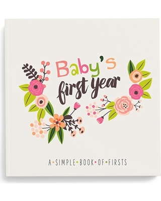Lucy Darling 'Baby'S First Year' Memory Book, Size One Size - Pink