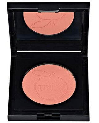 IDUN Minerals Blush, Akerbar - Highly Pigmented Rouge - Easy Sculpting & Definition on Cheeks for Fresh Natural Look - Ultra-Purified Clean Minerals, Safe for Sensitive Skin - Coral, 0.17 oz