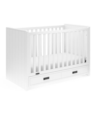 Graco® Cottage 3-in-1 Convertible Crib in White