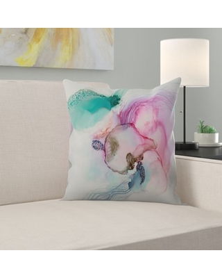 """Jelly Throw Pillow East Urban Home Size: 16"""" H x 16"""" W x 1.5"""" D"""