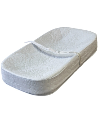 L.A. Baby 4-Side Changing Pad, White