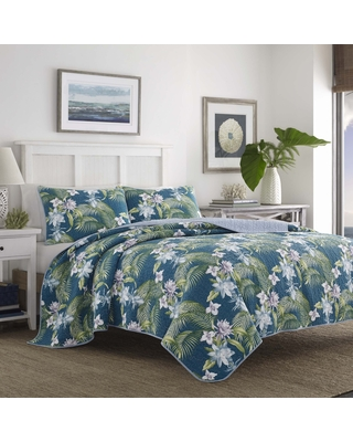 Tommy Bahama Southern Breeze Cotton Quilt Set (Full - Queen)