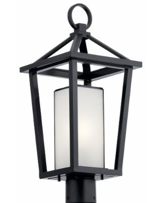 21 Inch Tall 1 Light Outdoor Post Lamp