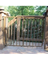 Cardinal Gates Stairway Special Outdoor Safety Gate Color: Brown