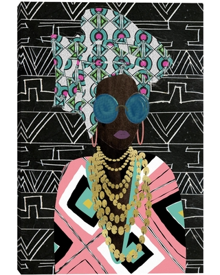 Queen Fly By Nikki Chu Canvas Wall Art: Black/Multi by World Market