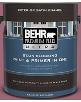 Find Savings On Behr Ultra 5 Gal 100d 5 Berries And Cream Flat Exterior Paint And Primer In One