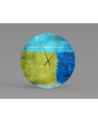 Sales For Oversized Cappiello Wall Clock Orren Ellis Size Large
