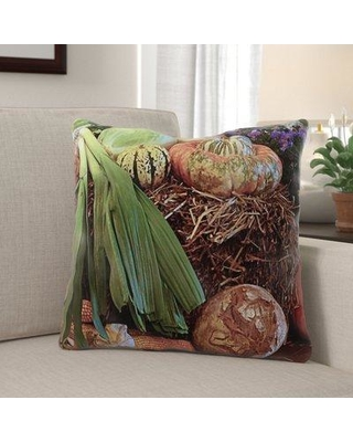 Don T Miss Sales On The Holiday Aisle Mutchler Thanksgiving Indoor Outdoor Throw Pillow Polyester Polyfill Polyester Polyester Blend In Brown Green Size 18x18