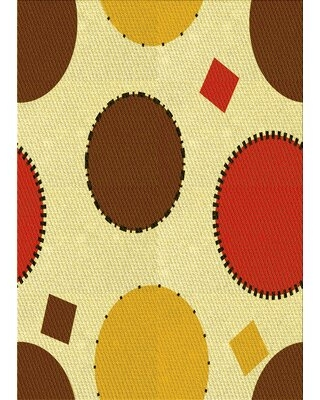 Wool Yellow Area Rug East Urban Home Rug Size: Runner 2' x 5'