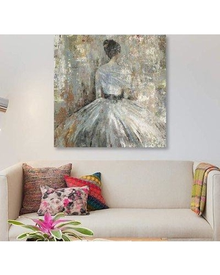 "East Urban Home 'In Waiting' Print on Canvas ETRB4318 Size: 12"" H x 12"" W x 0.75"" D"